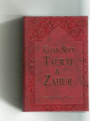 Katalog Kitab Suci Taurat Zabur